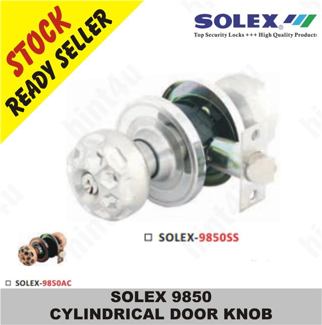 SOLEX 9850 CYLINDRICAL DOOR KNOB