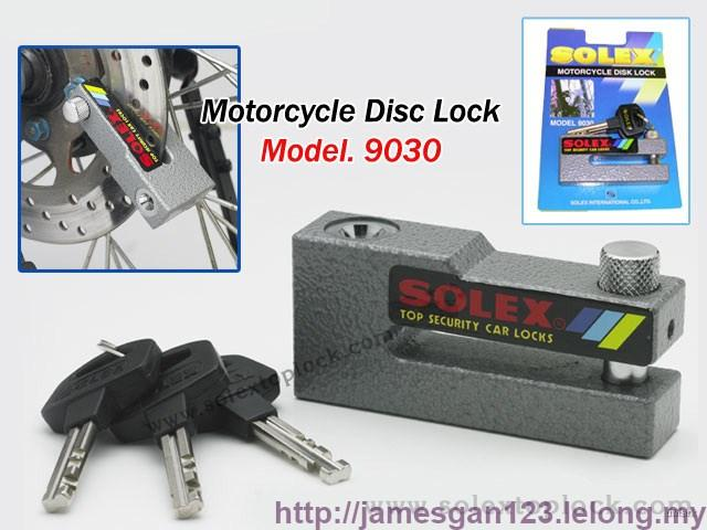 Solex Motorcycle Disc Brake Lock (9030)