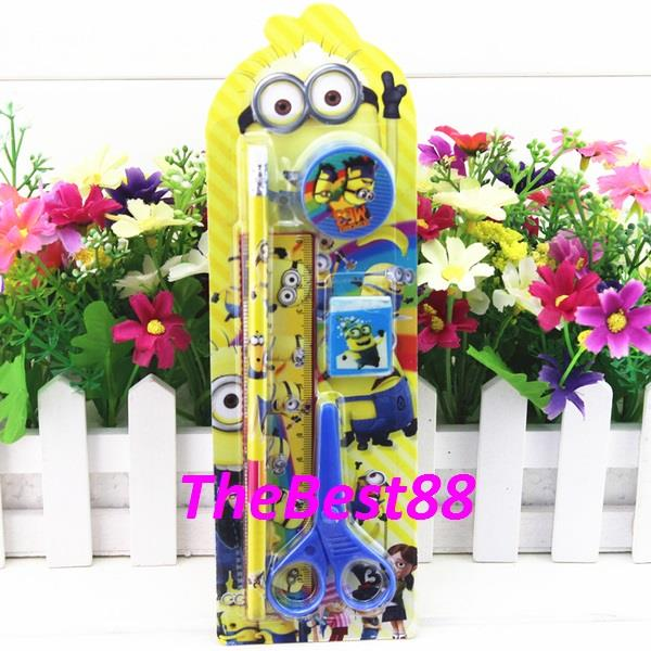 SOMI Despicable Me Stationery Set 5 In 1 for Kids SS881DM Present Gift