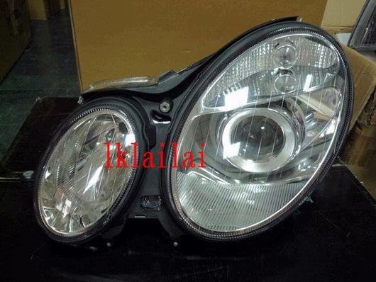 SONAR BENZ W211 '03-06 Crystal Projector Head Lamp