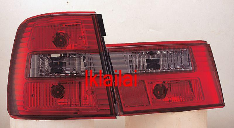 SONAR BMW E34 Crystal Tail Lamp [Red/Clear]