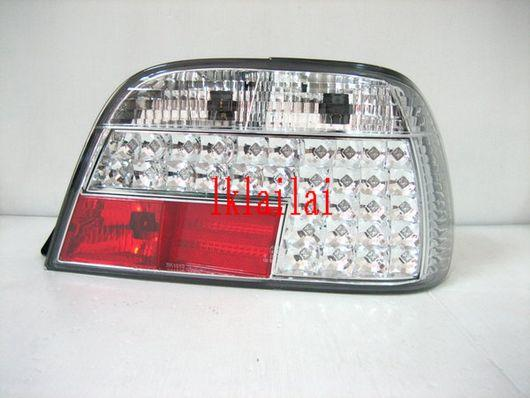 SONAR BMW E38 '95-02 LED Tail Lamp [Red/Clear]