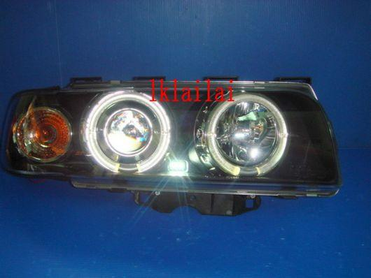 SONAR BMW E38 '98-01 Projector Head Lamp LED Ring [Black]