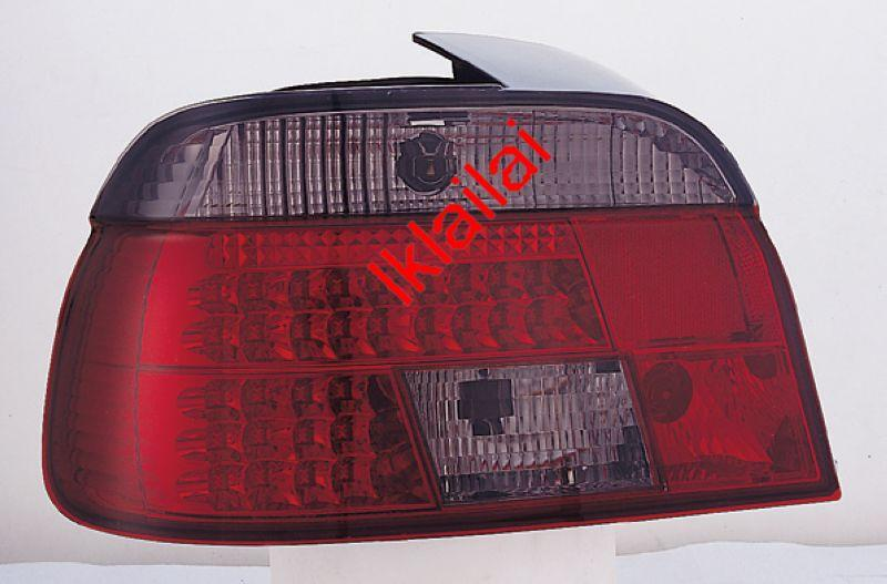 SONAR BMW E39 '95-00 LED Tail Lamp [Red/Smoke]