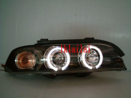 SONAR BMW E39 `95-02 Head Lamp Projector + LED Rim