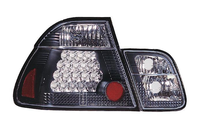 SONAR BMW E46 4Door '01-02 LED Tail Lamp Black