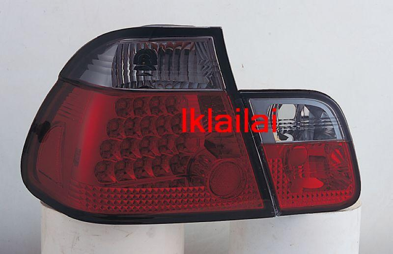SONAR BMW E46 4Door '98 / '02 LED Tail Lamp [RED/SMOKE LENS]