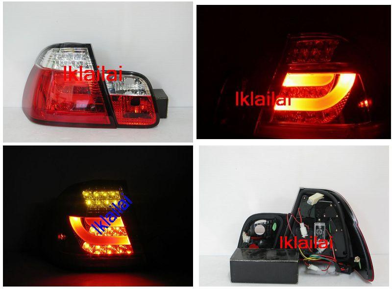 Sonar BMW E46 '98-01/'02-05 4D LED Light Bar Tail Lamp