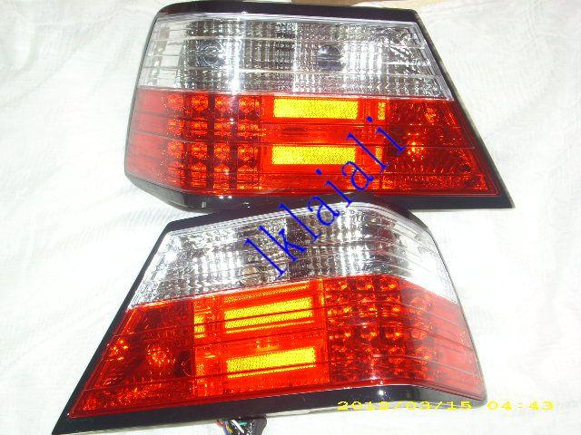SONAR MERCEDES BENZ W124 '85-96 LED Tail Lamp [RED/CLEAR]