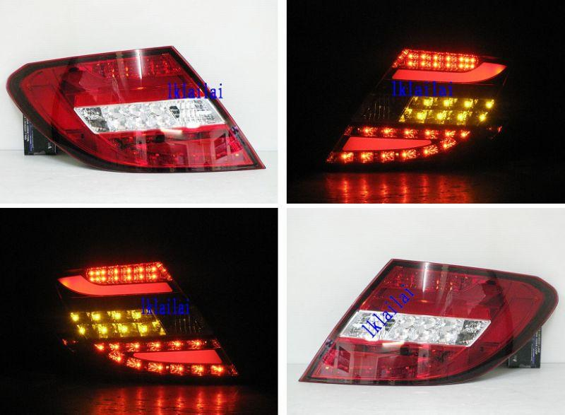 SONAR Mercedes Benz W204 '12 LED Light Bar Tail Lamp Price per pair