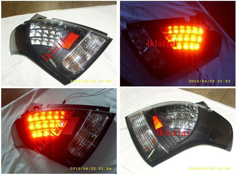 SONAR Suzuki Swift '05 LED Tail Lamp [Black Housing]