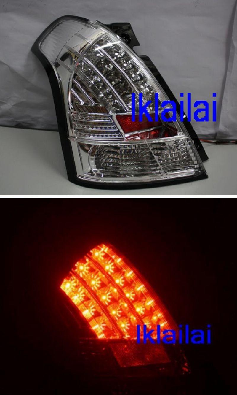 SONAR Suzuki Swift '05 LED Tail Lamp [Chrome Housing]