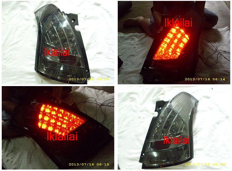 SONAR Suzuki Swift '05 LED Tail Lamp Smoke