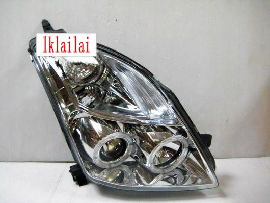 SONAR SUZUKI SWIFT '05 Projector Head Lamp LED Ring [Chrome]