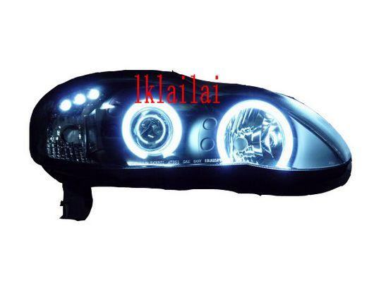 SONAR TOYOTA ALTIS 01-07 Projector Head Lamp CCFL Ring BLACK