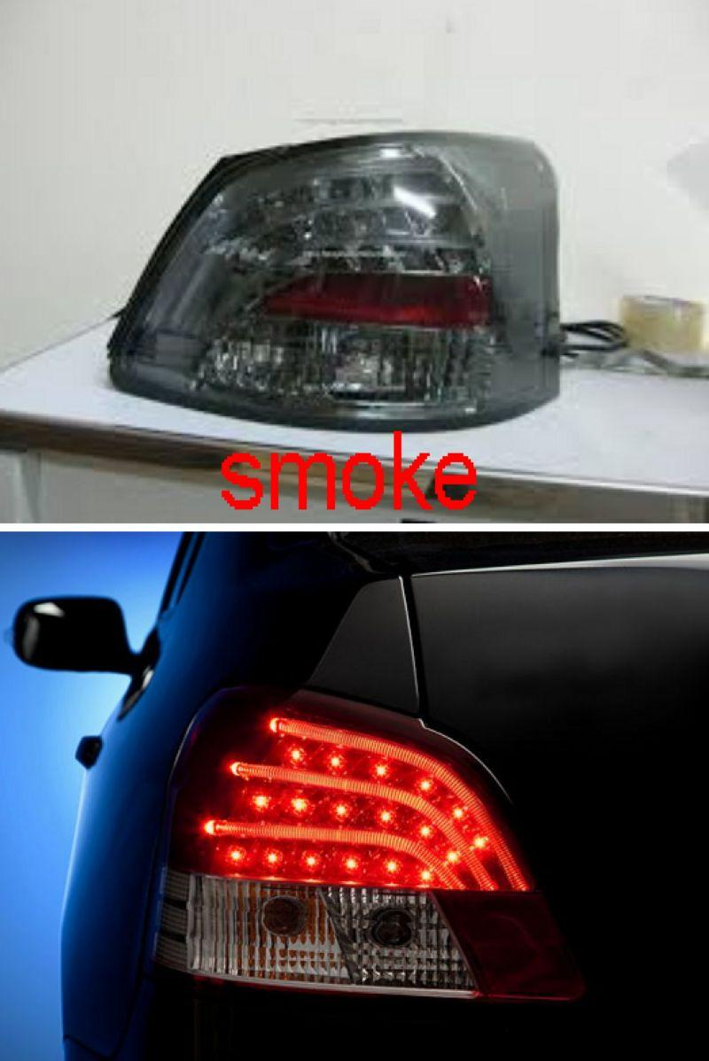 SONAR Toyota Vios 07-11 Tail Lamp LED Light Bar [Smoke/Black]