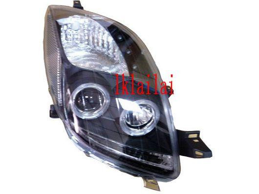 SONAR Toyota YARIS '06 Projector Head Lamp Double LED Ring