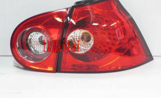 SONAR Volkswagen 05 V Golf LED Tail Lamp Crystal [Red]
