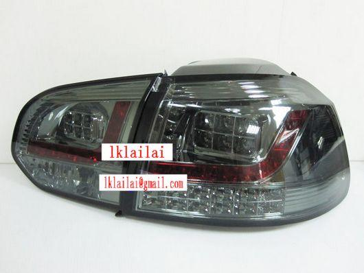 SONAR Volkswagen Golf 6 '09 Full LED Tail Lamp [Smoke]