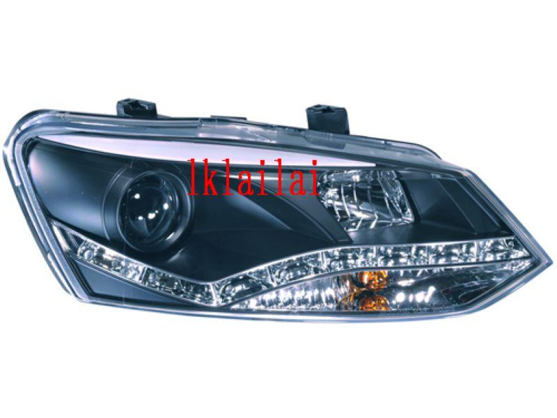 SONAR Volkswagen Polo '11 Mark V Head Lamp Projector W/DRL Function