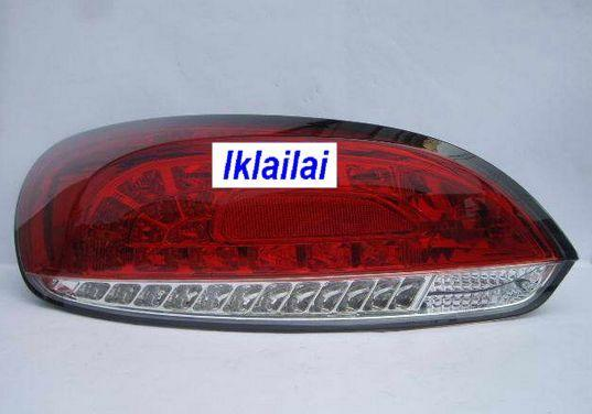 Sonar Volkswagen Scirocco 08 Full LED Tail Lamp [Red/Clear]