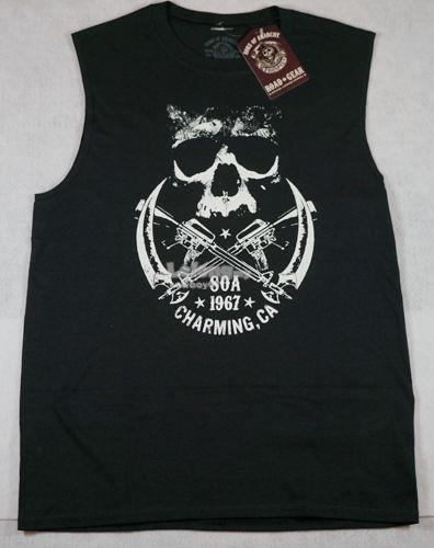 Sons Of Anarchy 1967 Charming Sleeveless T-shirt - New