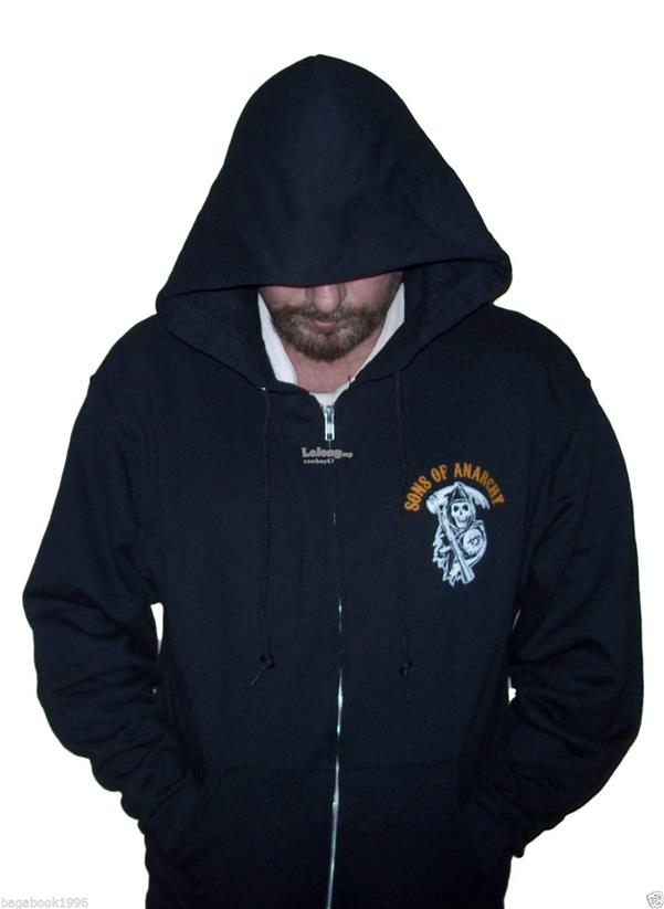 Sons Of Anarchy - Charging Reaper Adult Hoodie - New