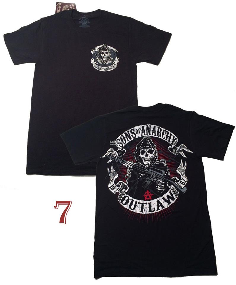 Sons Of Anarchy Outlaw 1967  T-shirt - New