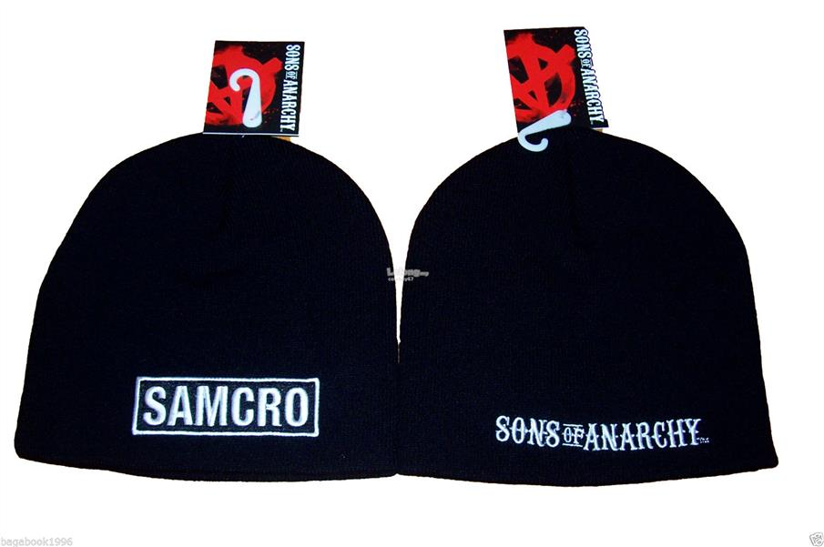 Sons Of Anarchy Samcro Beanie Cap - New