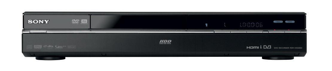 sony dvd recorder rdr hxd890 manual