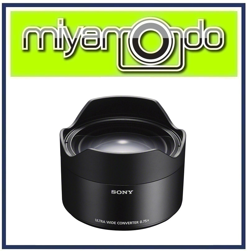 NEW Sony 21mm Ultra-Wide Conversion Lens for FE 28mm f/2 (SEL075UWC)