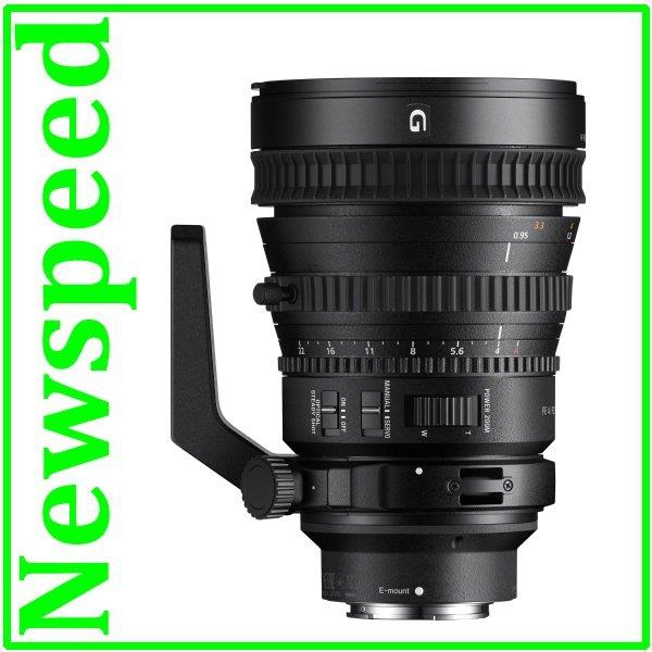 New Sony 28-135mm F4 FE PZ G OSS Lens (Sony MSIA)
