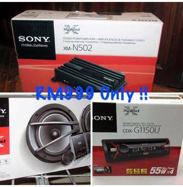 SONY 3 in 1 package A