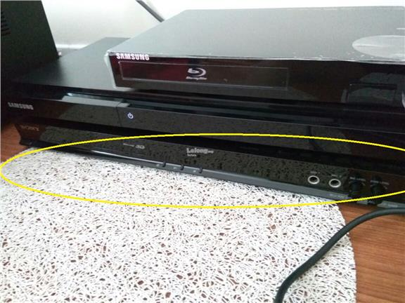 Sony 3-D Blu-Ray Player with Microphone X 3