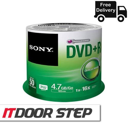 SONY 50DVD+R Bulk Pack 4.7GB, 120 Min