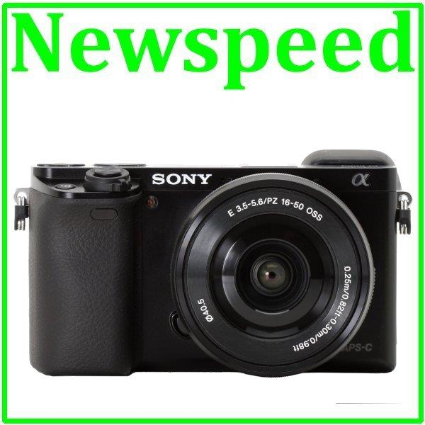 Sony Alpha A6000 Digital Camera 16-50mm Lens +16GB+Bag (Sony MSIA)