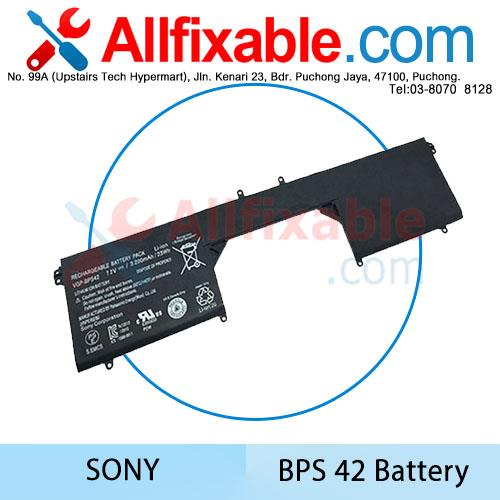 Sony BPS42 Vaio 11A Fit 11N Series SVF11N14SCP SVF11N15SCP Battery
