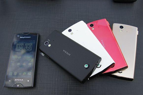 Sony Ericsson XPERIA RAY RM633 ORI RM733 FREE LEATHER CASE