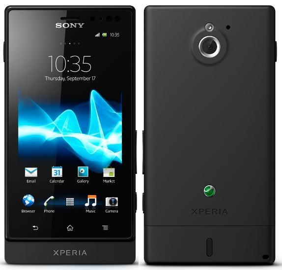 SONY ERICSSON Xperia SOLA COME with leather case cable 4gb card