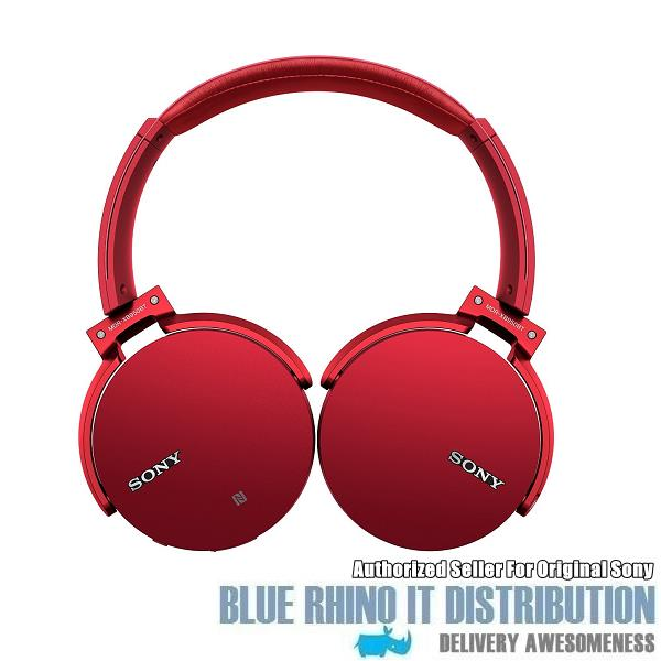Sony MDR-XB950BT Extra Bass Bluetooth Headphones (Red)