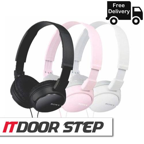 SONY MDR-ZX110 Outdoor Headphone (Black,White,Pink)