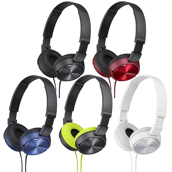 Sony MDR-ZX310 Sound Monitoring Headphones (Black,Blue,Gold,Red)