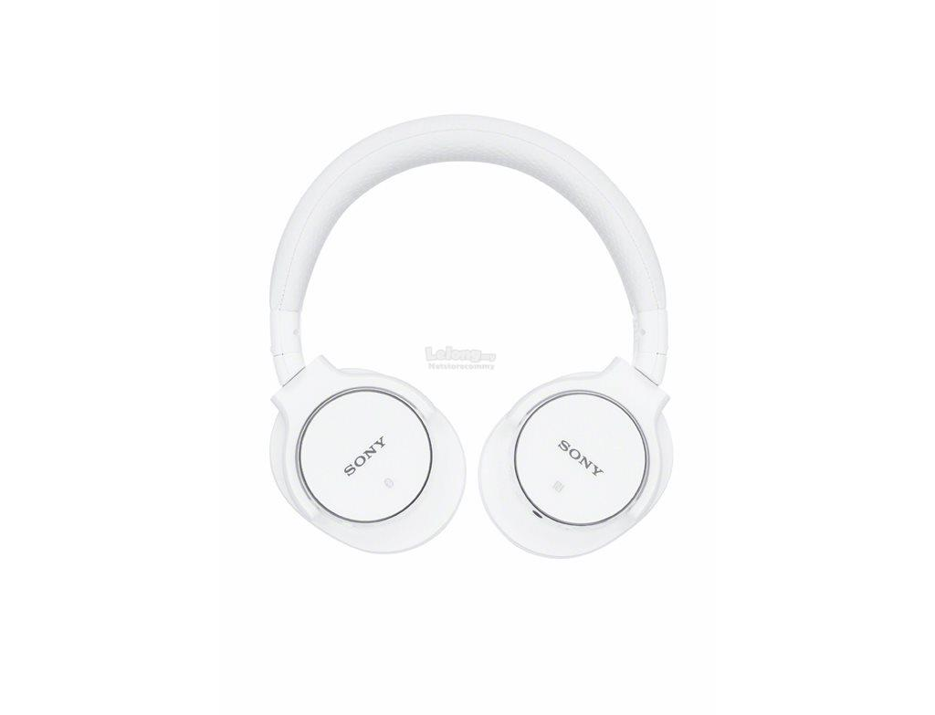 Sony MDR-ZX750BN/W Portable Bluetooth® NFC™ Headphones (White)