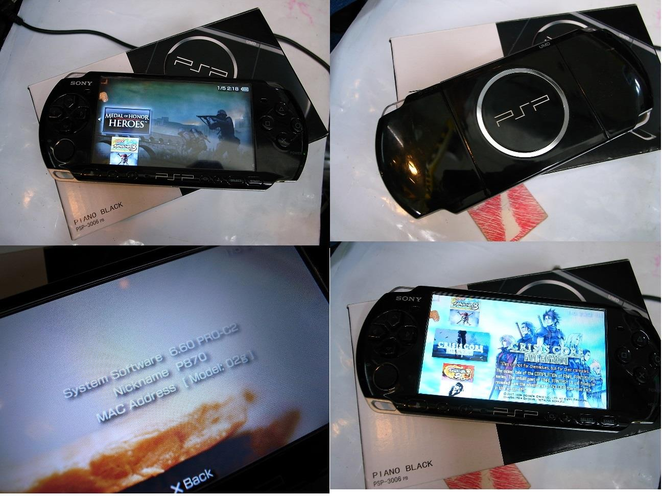 Sony PSP 3000 3006 Game Music Video (end 4/25/2017 7:15 PM)