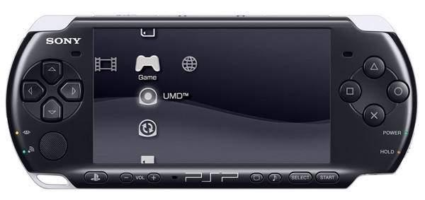 Sony PSP Slim 3000 Piano Black + 4GB Mark2 Memory Card Full Set