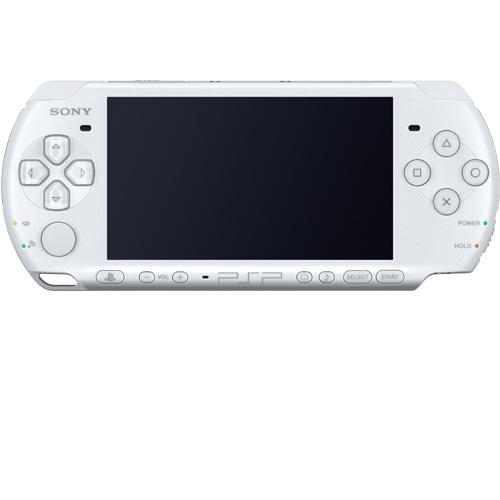 Sony PSP Slim 3000 White + 8GB Mark2 Memory Card Full Set