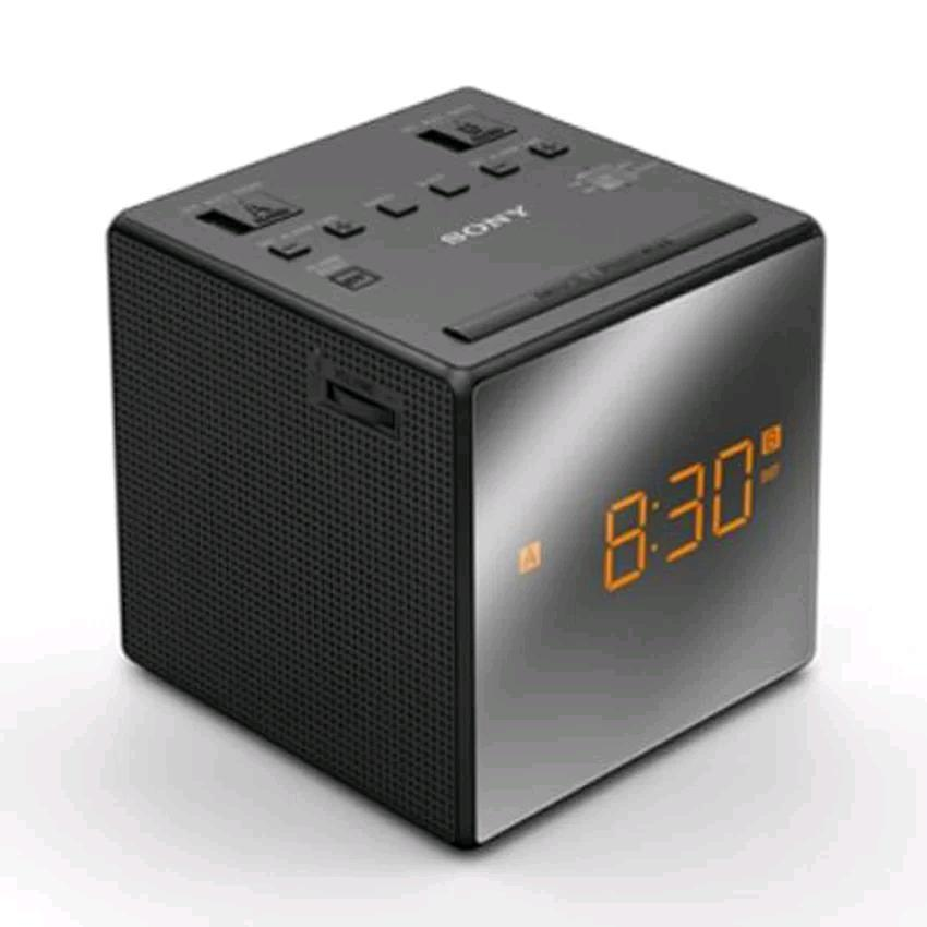 radio alarm clock model icf c1t b sony clock radio icf c1t sony icf c1t fm am clock radio. Black Bedroom Furniture Sets. Home Design Ideas