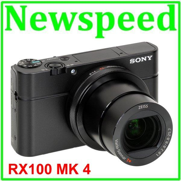 Sony RX100 MK IV MK4 + 64GB SD (95MB/s) + Leather Case (MSIA)