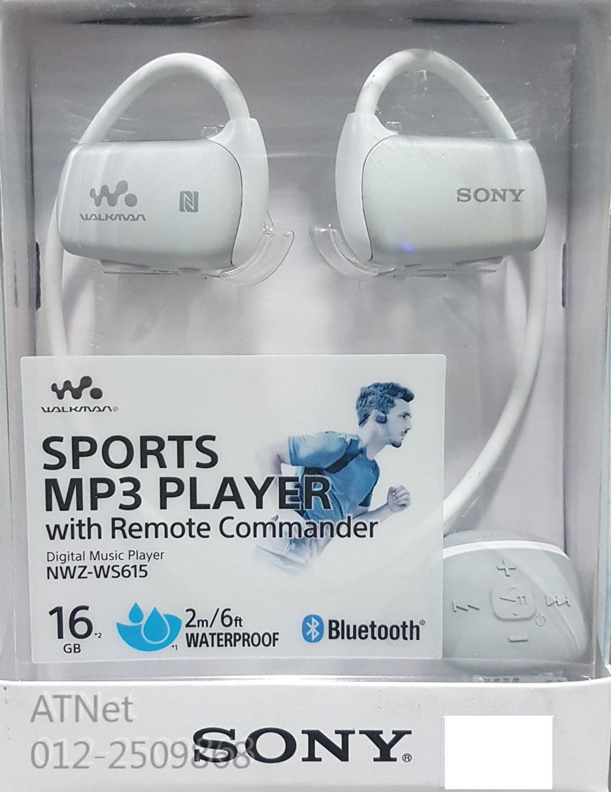 SONY SPORT WATERPROOF MP3 PLAYER 16GB (NWZ-WS615)