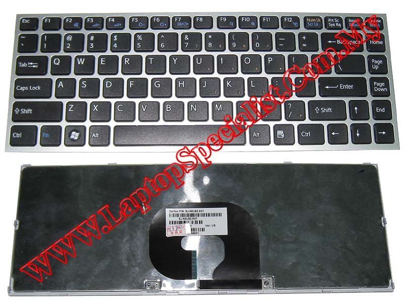 Sony Vaio VPC-S 148768621 New US Keyboard